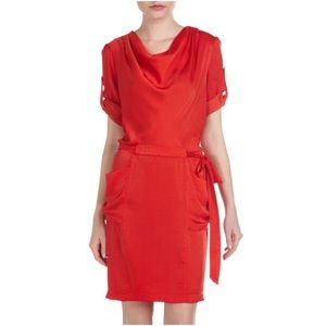 BCBG Red Dress XS Holiday Dress